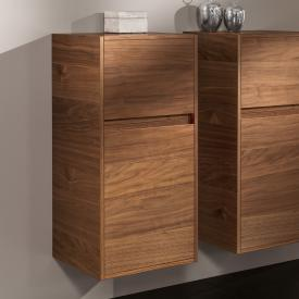 Villeroy & Boch Antheus side unit with 1 pull-out compartment and 1 door front american walnut / corpus american walnut