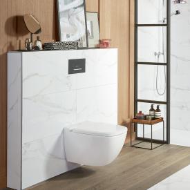 Villeroy & Boch Antheus wall-mounted washdown toilet, open flush rim, DirectFlush white, with CeramicPlus