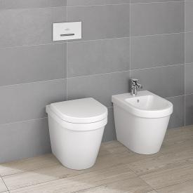 Villeroy & Boch Architectura floorstanding washdown toilet white, with CeramicPlus
