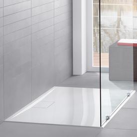 Villeroy & Boch Architectura MetalRim shower tray with 1.5 cm high rim, complete set white with VilboGrip