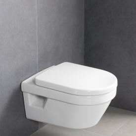 Villeroy & Boch Architectura wall-mounted washdown toilet, open rim, DirectFlush white