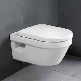 Villeroy & Boch Architectura wall-mounted washdown toilet, open rim, DirectFlush white, with CeramicPlus