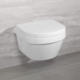 Villeroy & Boch Architectura XL wall-mounted washdown toilet, open flush rim, DirectFlush white, with CeramicPlus and AntiBac
