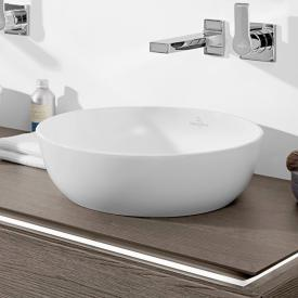 Villeroy & Boch Artis countertop washbasin stone white, with CeramicPlus