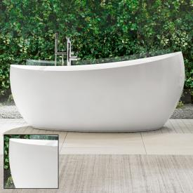 Villeroy & Boch Aveo New Generation freestanding bath starwhite, with waste and overflow