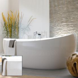 Villeroy & Boch Aveo New Generation freestanding bath white, with Multiplex Trio