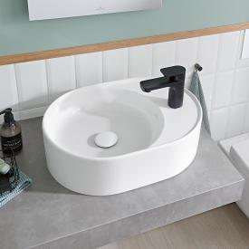 Villeroy & Boch Collaro countertop washbasin white, with CeramicPlus, with 1 tap hole