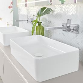 Villeroy & Boch Collaro countertop washbasin white, with CeramicPlus