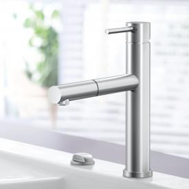 Villeroy & Boch Como Shower Sky single lever kitchen mixer stainless steel