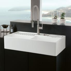 Villeroy & Boch butler sink white alpine high gloss/position boreholes 1 and 2