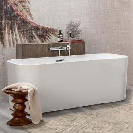 Villeroy & Boch Finion freestanding oval bath stone white, chrome