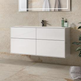 Villeroy & Boch Finion vanity unit with 4 pull-out compartments front glossy white / corpus glossy white