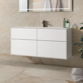 Villeroy & Boch Finion vanity unit with 4 pull-out compartments front matt white / corpus matt white