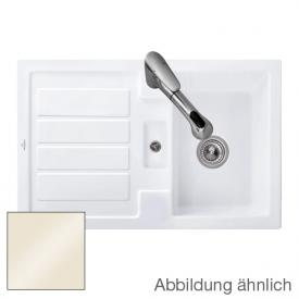 Villeroy & Boch Flavia 45 sink cream gloss/without tap hole