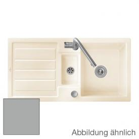 Villeroy & Boch Flavia 60 sink fossil/position boreholes 1 and 2