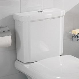 Villeroy & Boch Hommage cistern white, with CeramicPlus, chrome water-saving button