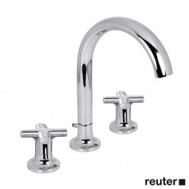 Villeroy & Boch LaFleur classique three hole basin mixer chrome