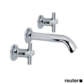 Villeroy & Boch LaFleur classique wall-mounted basin mixer chrome