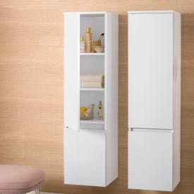 Villeroy & Boch Legato tall unit front glossy white / corpus glossy white