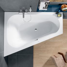 Villeroy & Boch Loop & Friends corner bath, left version white