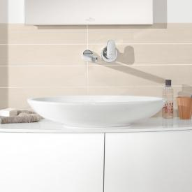 Villeroy & Boch Loop & Friends countertop basin, oval white, with CeramicPlus, with overflow