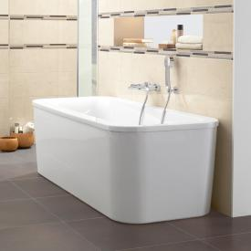 Villeroy & Boch Loop & Friends Duo freestanding rectangular bath white
