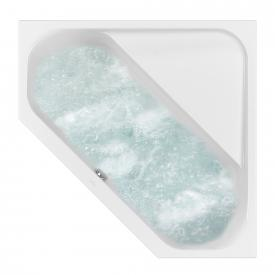 Villeroy & Boch Loop & Friends SQUARE Duo corner whirlbath white, with HydroPool Comfort, with bath filler