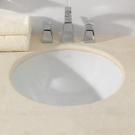 Villeroy & Boch Loop & Friends undercounter basin, round white, with CeramicPlus, without overflow