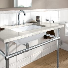 Villeroy & Boch Loop & Friends undermount washbasin, rectangular white, with CeramicPlus, with overflow
