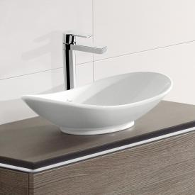 Villeroy & Boch My Nature countertop washbasin, oval white, with CeramicPlus