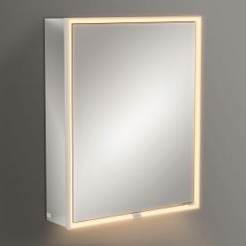 Villeroy & Boch My View Now mounted mirror cabinet with LED lighting with 1 door hinged left, with sensor dimmer