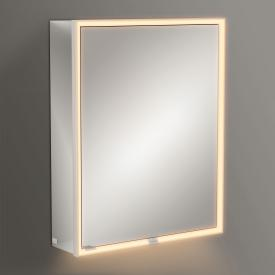 Villeroy & Boch My View Now mounted mirror cabinet with LED lighting with 1 door hinged right, with sensor dimmer