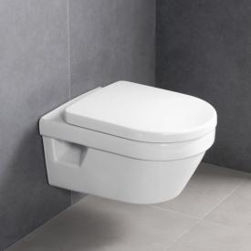 Villeroy & Boch Omnia Architectura wall-mounted washdown toilet with open rim, with toilet seat