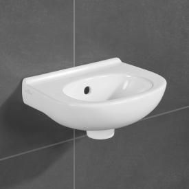 Villeroy & Boch O.novo hand washbasin white, without tap hole, with overflow