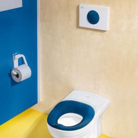 Villeroy & Boch O.novo Kids flush plate white/blue