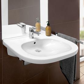 Villeroy & Boch O.novo Vita washbasin, wheelchair accessible white, with AntiBac