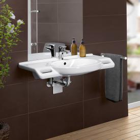 Villeroy & Boch O.novo Vita washbasin, wheelchair accessible white, with CeramicPlus, with AntiBac