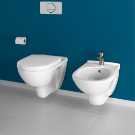 Villeroy & Boch O.novo wall-mounted washdown toilet, open rim, DirectFlush white