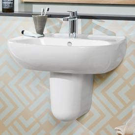 Villeroy & Boch O.novo washbasin white, with CeramicPlus, with 1 tap hole, with overflow