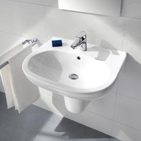 Villeroy & Boch O.novo washbasin white, with CeramicPlus, with overflow