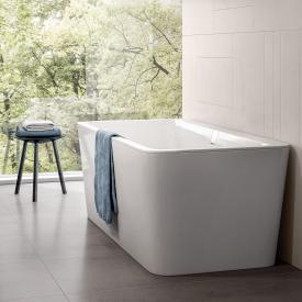 Villeroy & Boch Squaro Excellence duo freestanding bath starwhite, with integrated water inlet