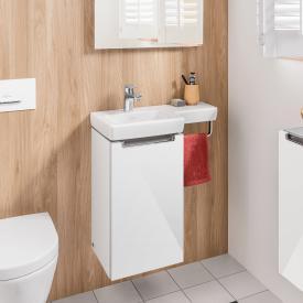 Villeroy & Boch Subway 2.0 hand washbasin with vanity unit with 1 door