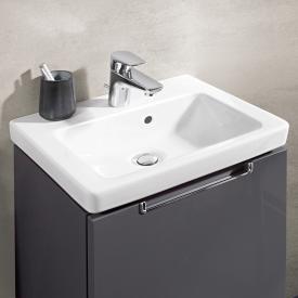 Villeroy & Boch Subway 2.0 hand washbasin white, with CeramicPlus, grounded