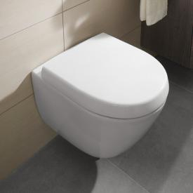 Villeroy & Boch Subway 2.0 wall-mounted washdown toilet Compact white, with CeramicPlus
