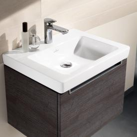 Villeroy & Boch Subway 2.0 washbasin white, with 1 tap hole, ungrounded, without overflow