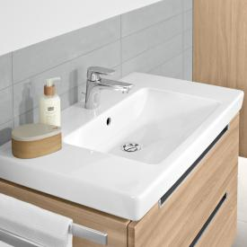 Villeroy & Boch Subway 2.0 washbasin white, with CeramicPlus, with 1 tap hole, ungrounded, with overflow