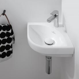 Villeroy & Boch Subway 3.0 corner hand washbasin white, with CeramicPlus