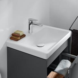 Villeroy & Boch Subway 3.0 vanity hand washbasin white, without overflow