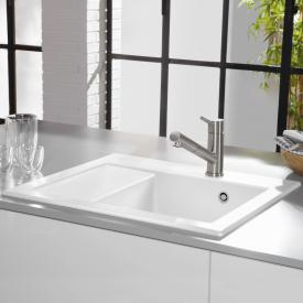 Villeroy & Boch Subway 45 Compact built-in sink white alpine high gloss/position borehole 2