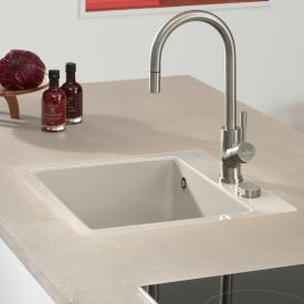Villeroy & Boch Subway 50 S Flat sink cream gloss/position boreholes 2 and 3